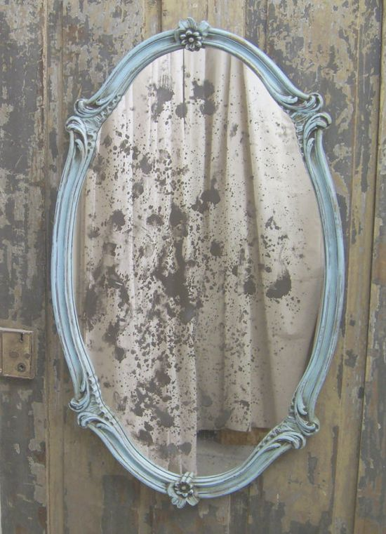 Love this old mirror.