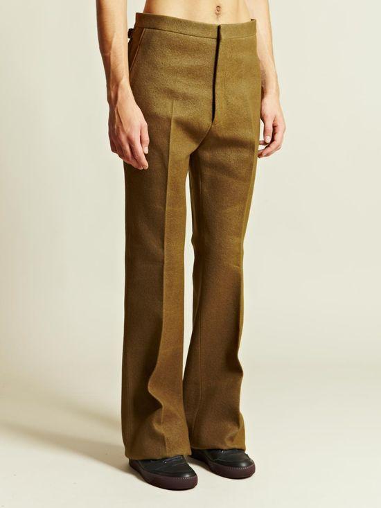 Lanvin Men's Large Flare Trousers