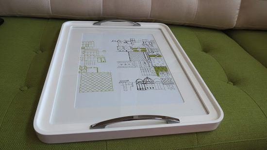 DIY tray from IKEA frame