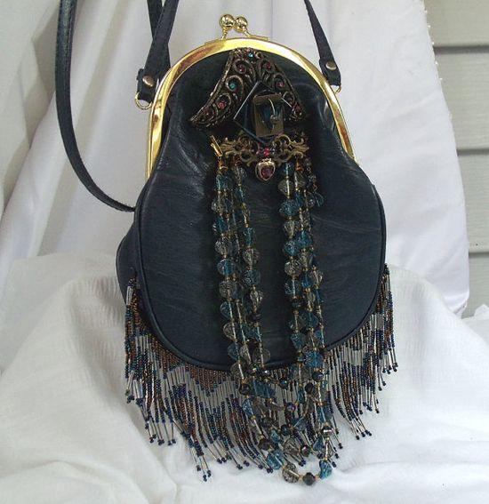 Flapper vintage handbag