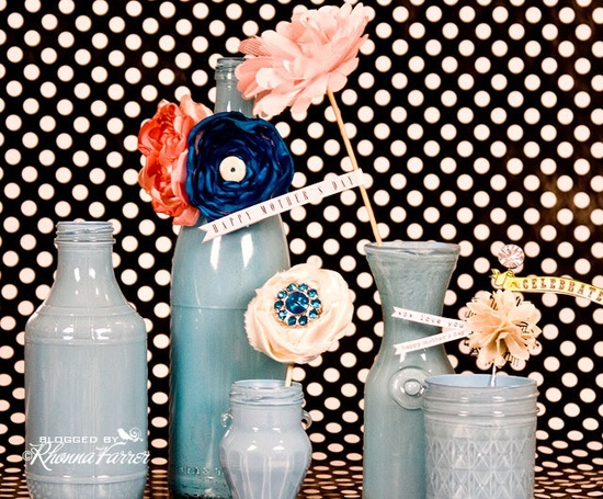 handmade flowers ...