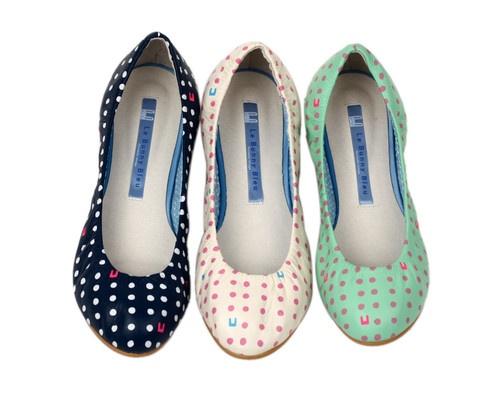 Le Bunny Blue Ballet Flats