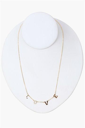 l-o-v-e necklace