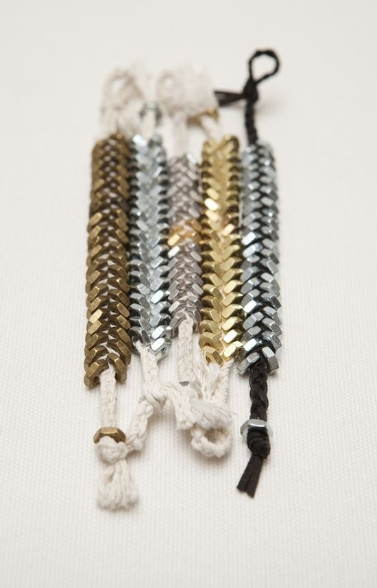 // Fishbone bracelets by Ravel Shop