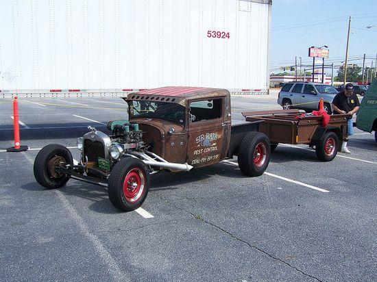 1931 FORD TRUCK RAT ROD