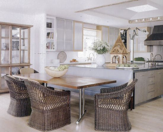 greige: interior design ideas and inspiration for the transitional home : Kitchen clean and simple