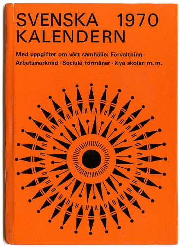 swedish almanack 1970