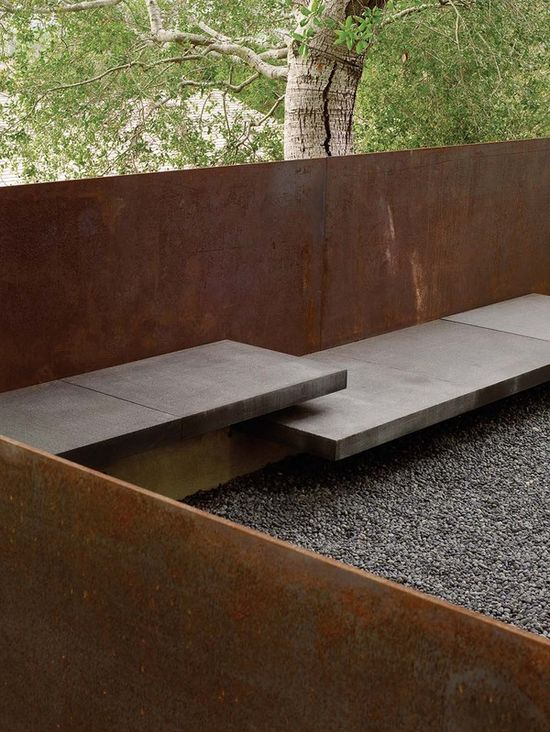 beautiful built-in benches