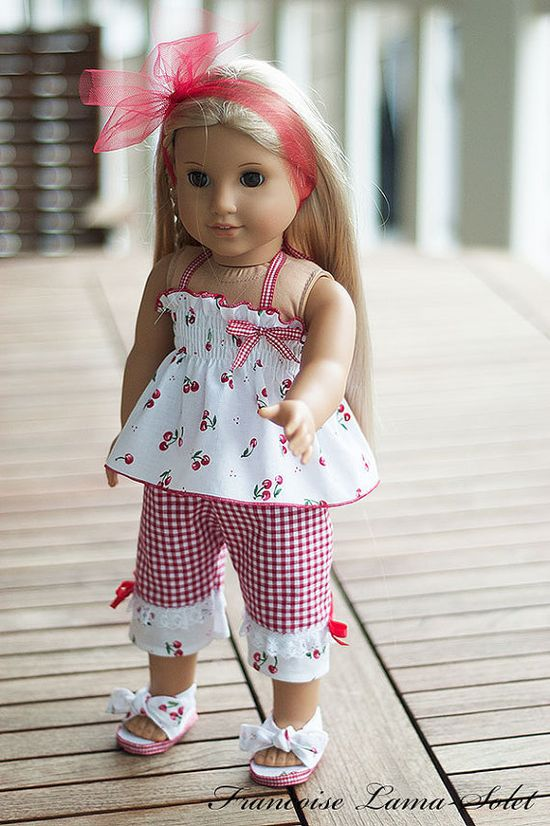 American Girl doll clothes 18 doll 4 pieces by francoiselamasolet, $32.00