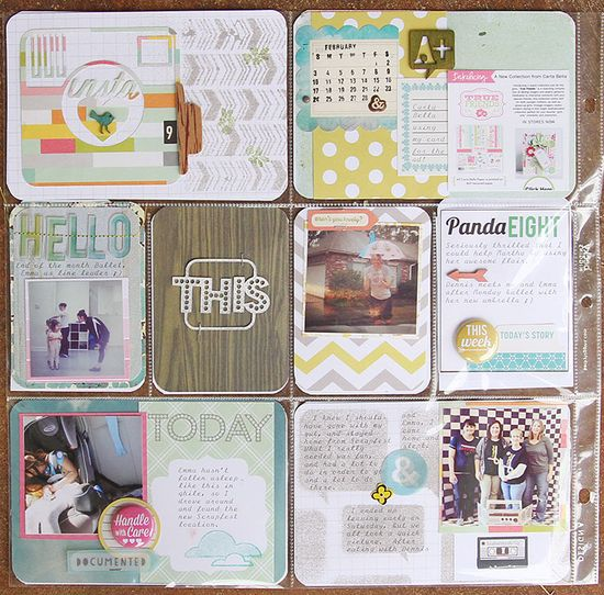 Project Life, Week 9 - Scrapbook.com