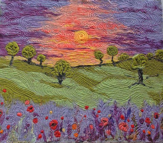 SALE.Sunset  Needle