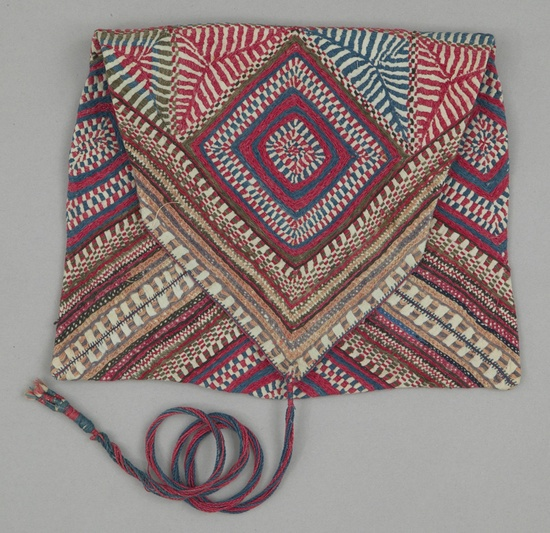 Bangladesh / vintage HM woven and embroidered bag