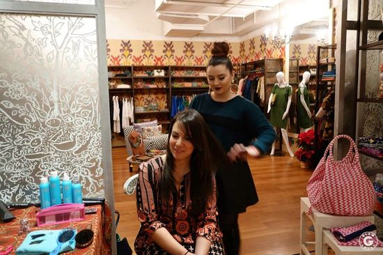 Festive Holiday Event with MomTrends