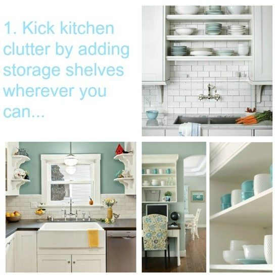 Stylish Open Shelves in Kitchens to Kick Kitchen #kitchen decorating before and after #kitchen design ideas #kitchen designs #kitchen interior