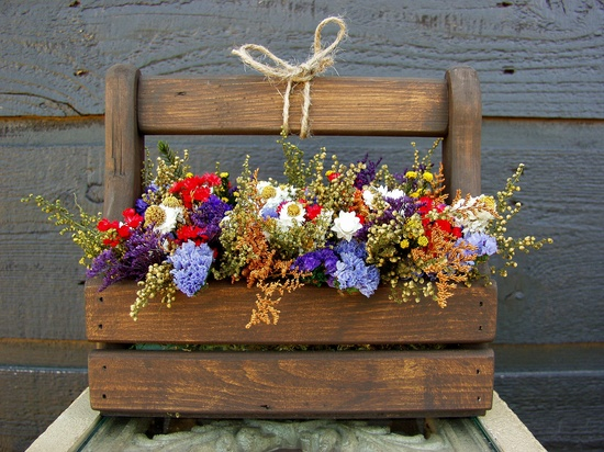 love dried flowers