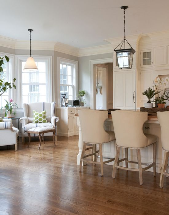 designer kitchen with island