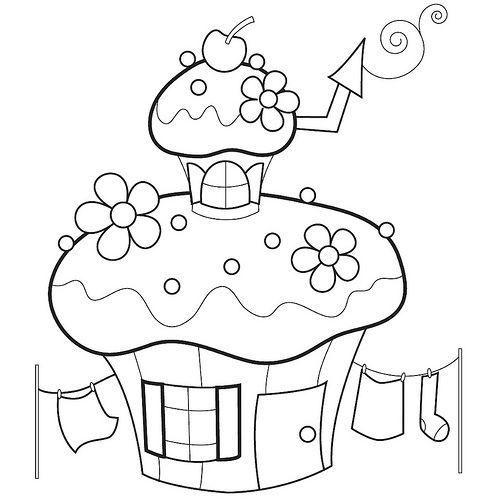 gâteau maison en forme de lutin