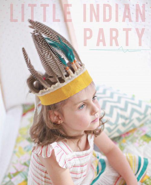 DIY birthday party hats