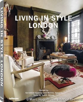 Book cover Living in Style London