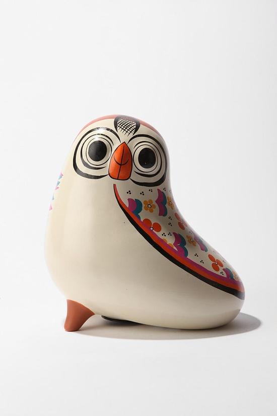 Rosa the Owl, piggy (owly?) bank