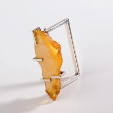 Emilia Górna - Norbert Wawrzyniak - amber ring    http://www.galeria.legnica.pl/
