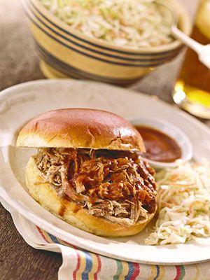 Carolina Pulled-Pork Sandwiches