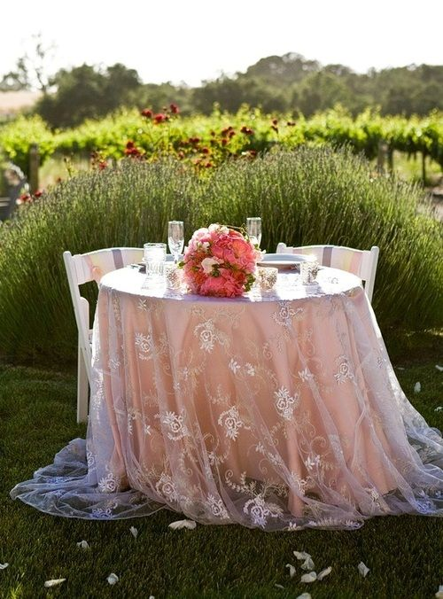 love the table cloth