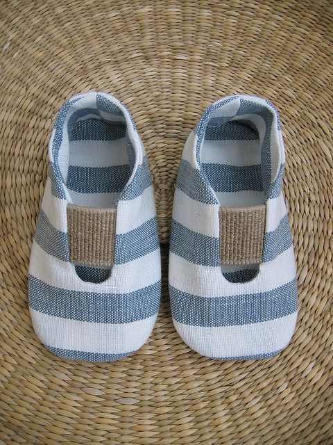 cotton natural baby shoes