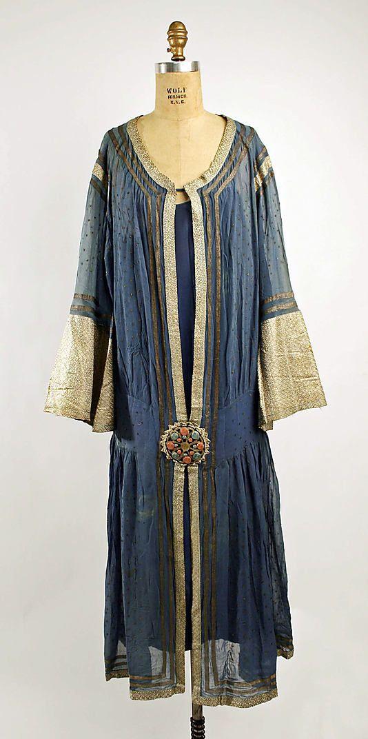 French silk dress 1923-27
