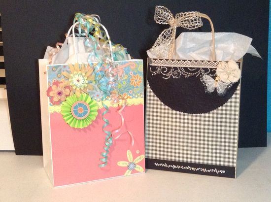 Hand made gift  bags