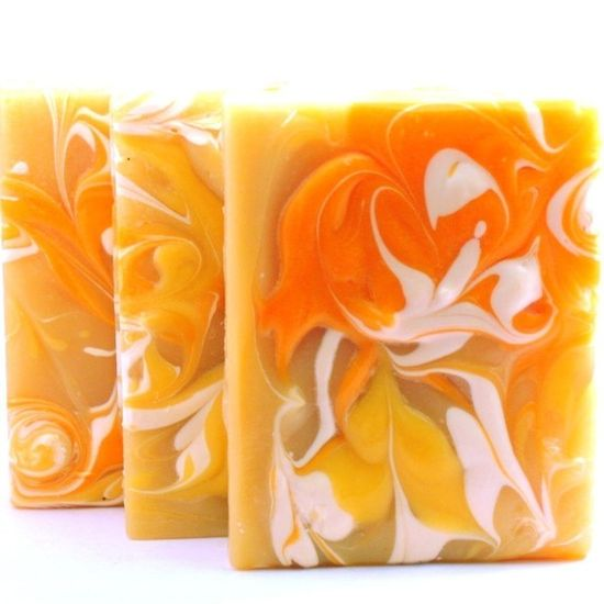 thai lemongrass coconut handmade cold process shea and cocoa butter soap