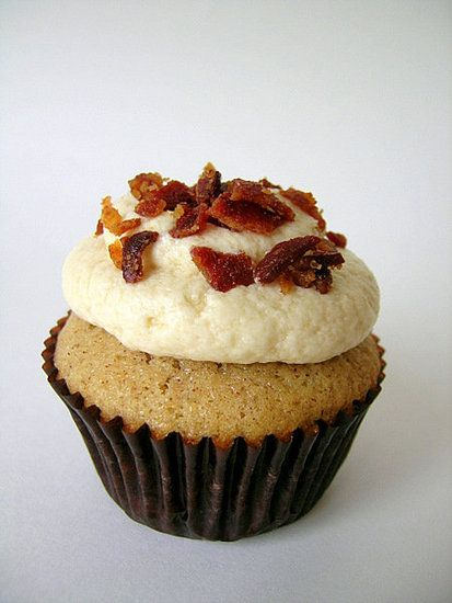 Savory Cupcakes: Bacon Maple Cupcakes
