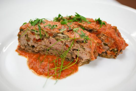 Chef Richard's Savory Buffalo and Mushroom Meatloaf