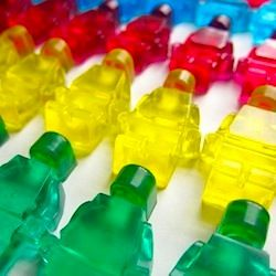 How to make Lego soap with ice cube trays. An easy, fun stocking stuffer.