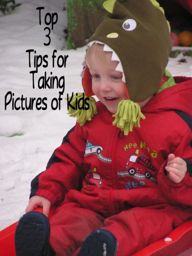 Top Tips for Taking Pictures of Kids