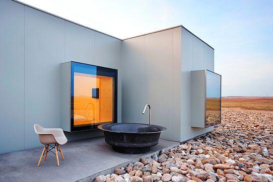 nice outdoor bath