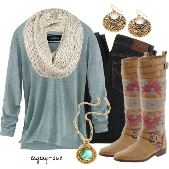 The boots make this whole outfit!