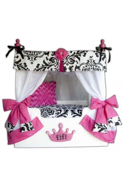 Isabella Princess Canopy Dog Bed @Tonya Seemann Seemann