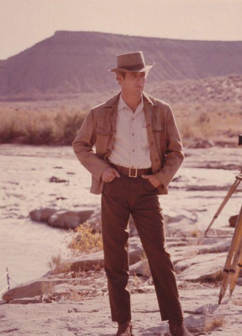 Paul Newman as Butch Cassidy