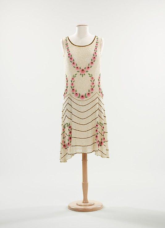Dress, Evening  Date: ca. 1925 Culture: French
