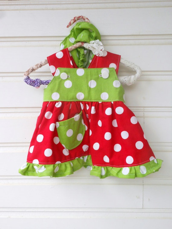 Christmas Baby Girl Dress