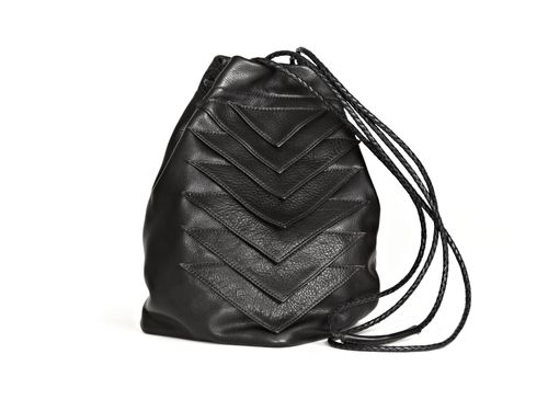 Tryst Bag Black Leather