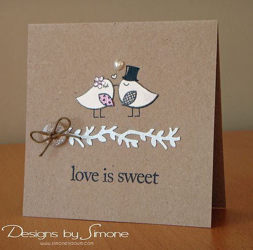 Love is Sweet Birds & Branch Card