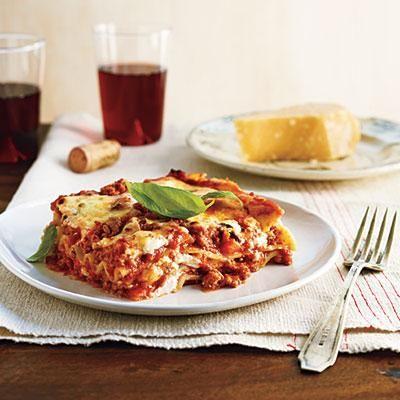 Classic Light Bolognese Lasagna