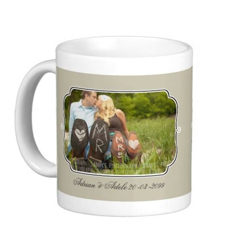 Wedding Photo's Framed Personalized Gift Mug
