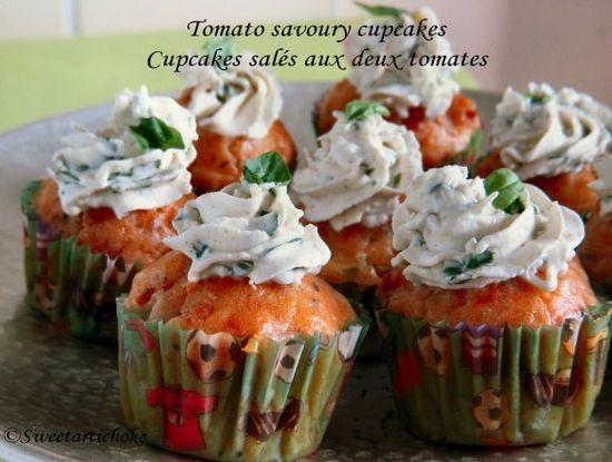 Tomato Savory Cupcakes