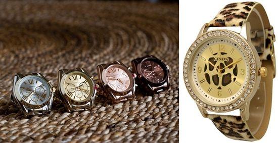 Designer Inspired Watches - Boyfriend/Genuine Leather Wrap/Animal Print!
