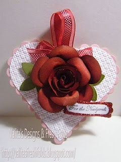 Gorgeous Rose made using the SU Owl Punch and SU scalloped circle punch!!!!  Tutorial on Valita's Blog