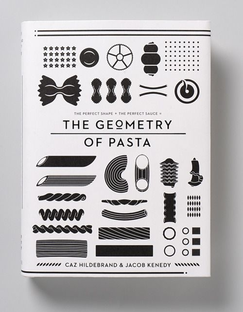 geometry of pasta book cover (Promotional Design)