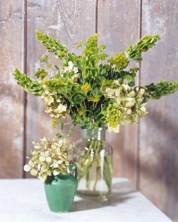 Green Flower Arrangements